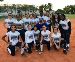 MSMS Softball Team